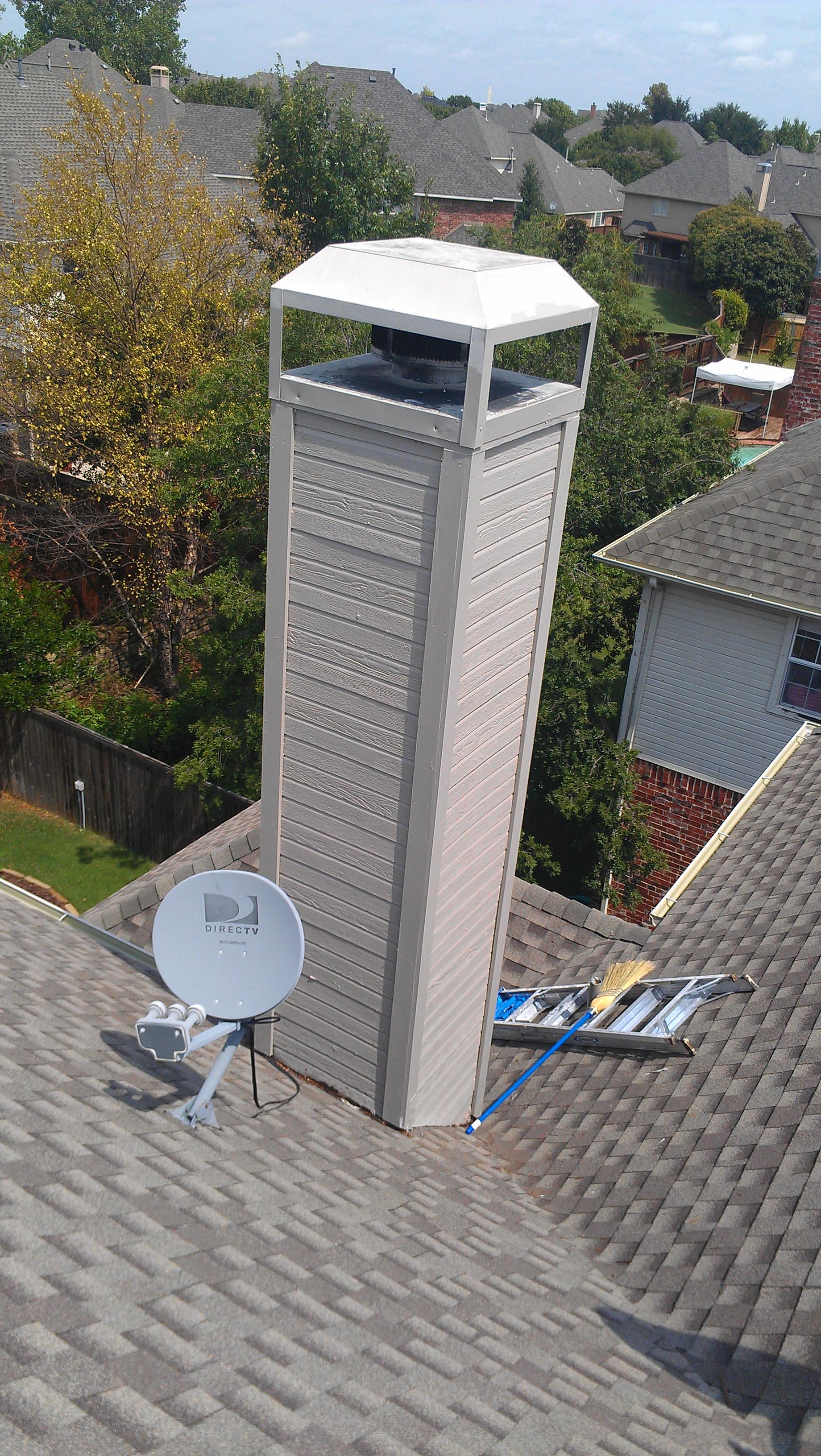 Exterior wood trim repair flower mound chimney repair - How long does exterior paint last on wood ...