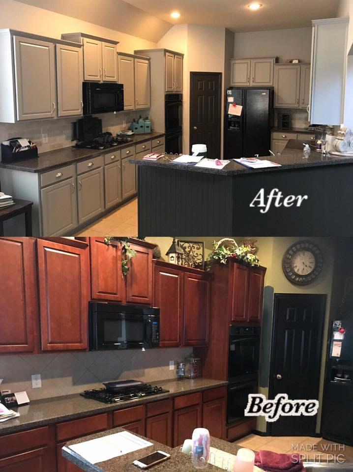 Kitchen Cabinet Painters In Dallas Tx